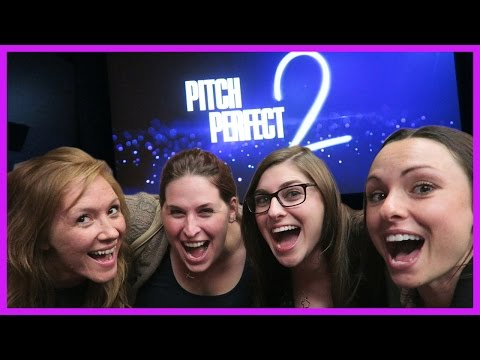 PITCH PERFECT 2 REVIEW | GIRL'S NIGHT!!