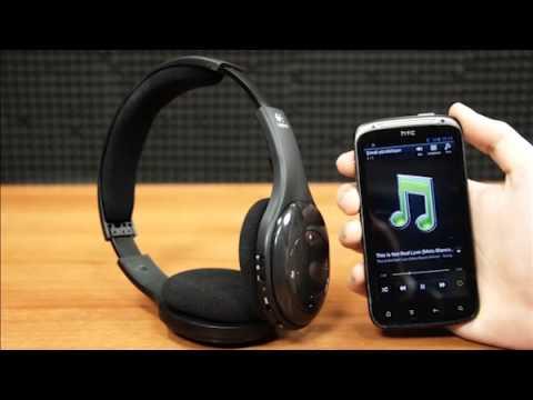 buy popular bd460 5c169 Logitech H800 Stereo Wireless Bluetooth Headset - YouTube