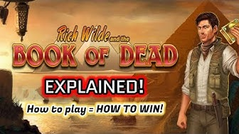 Play Book Of Dead Online Free 🎰 How to play ► How to WIN🥇