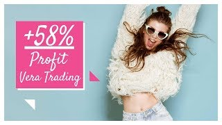 +58% Bitcoin Trading LIVE - Vera Trading Stream BTCUSD start from 0.01 BTC. Like please!