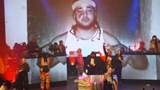 (ASAP Yams Mother) Speech and Dabs for the crowd