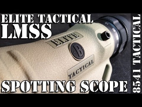 Bushnell Elite Tactical 8-40x60 LMSS (Lightweight Spotting Scope) Unboxing