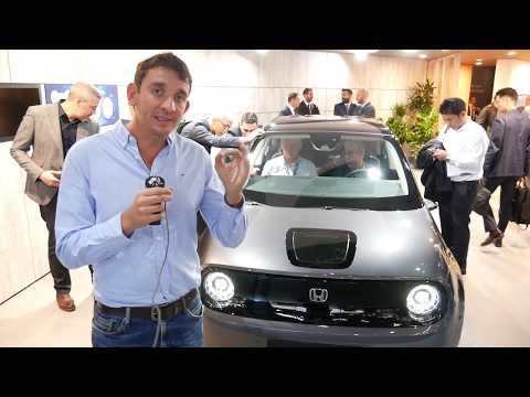 La Honda E présentée au salon de Francfort