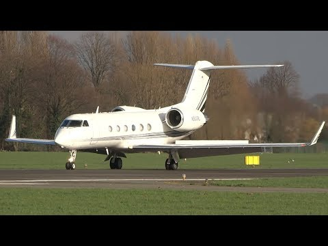 Plane Spotting at Antwerp Airport | Nice Business and General Aviation Traffic!!