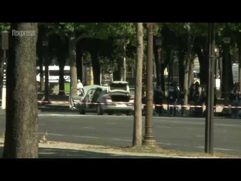 Tentative d'attentat sur les Champs-Élysées: ce que l'on sait
