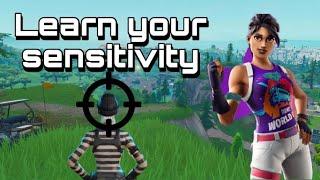 best sensitivity for fortnite pc