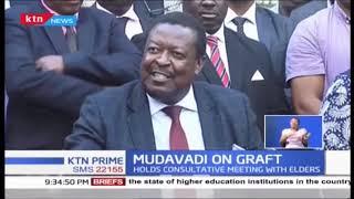 ANC Musalia Mudavadi hosts Central Kenya leaders