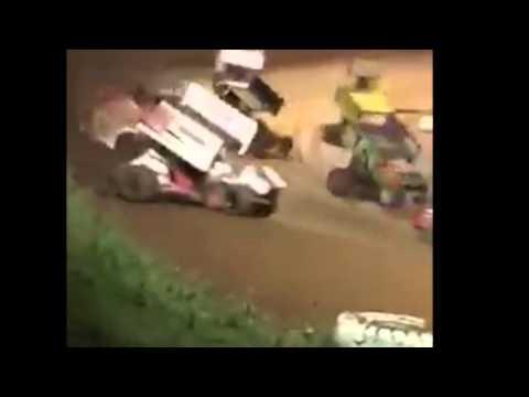 360 Sprints MAIN  5-7-16  Placerville Speedway - CRASH