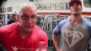 Mike and Robert arms workout BC 13 1
