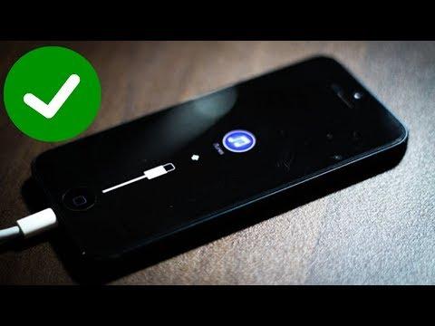 Восстановление IOS прошивки на IPhone 5 программой ITunes
