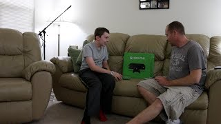 Xbox One SURPRISE For My 13-Year-Old Son! (HIDDEN CAMERA)