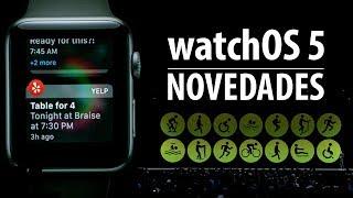 watchOS 5, estas son sus principales novedades