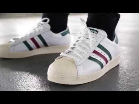 "adidas Superstar 80s ""Collegiate Green"