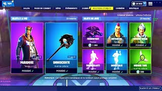 BOUTIQUE FORTNITE du 13 Janvier 2019 ! ITEM SHOP January 13 2019 !