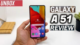 Samsung Galaxy A51 Review - WOW ! Best Midrange Smartphone (Unboxing)
