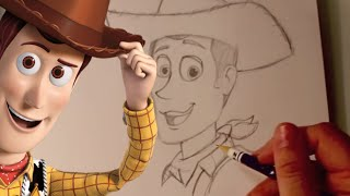 How to Draw WOODY from Pixar