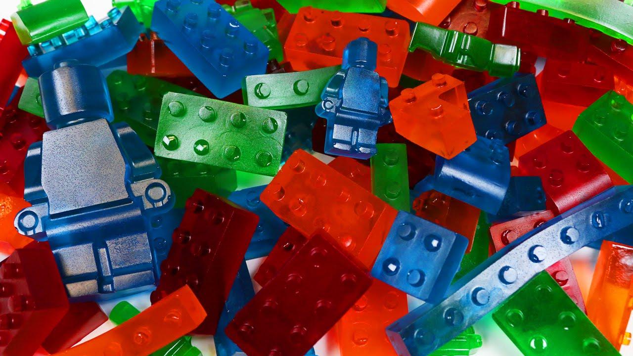 How to Make GUMMY LEGO Jello Candy! - YouTube