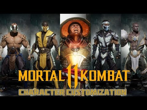 Mortal Kombat 11 Gear Skins And Character Customization From