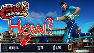 How to sign in WCC 2 : Problem solved
