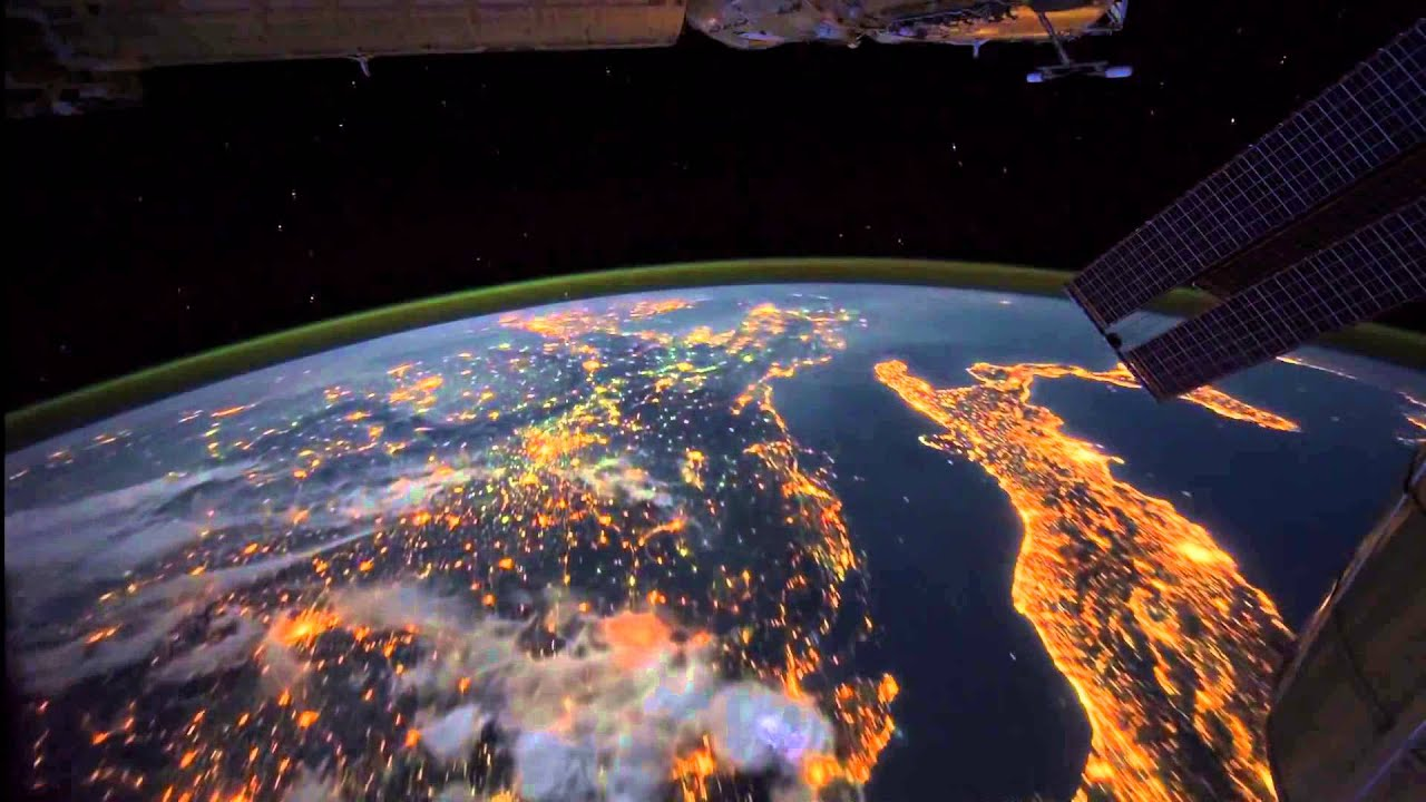 A terra vista de um satelite youtube - Fotos terras ...