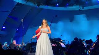 """Lea Michele """"Part Of Your World"""" Night 2 of The Little Mermaid at Hollywood Bowl 5/18/19"""