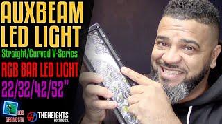 #Auxbeam RGB LED Light Bar💡 : #LGTV Review