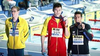 Mack Horton refuses to share podium with Sun Yang