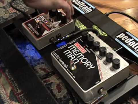 electro harmonix deluxe memory man vs memory boy guitar effects pedal shootout w dr z amp tele. Black Bedroom Furniture Sets. Home Design Ideas
