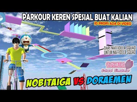 OBBY PARKOUR KEREN buat ngabuburit SAKURA SCHOOL SIMULATOR INDONESIA | SPECIAL BUAT KALIAN SEMUA #4