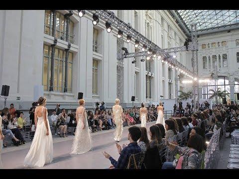 La moda de La Palma está presente en la Madrid Bridal Week