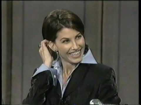 Gina Gershon on Late Show (1995)