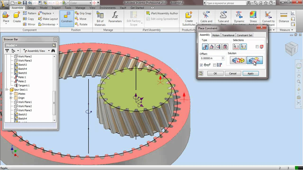 how to make a weld in autodesk inventor