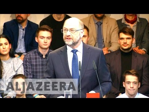 Germany: SDP pick Martin Schulz to challenge Angela Merkel