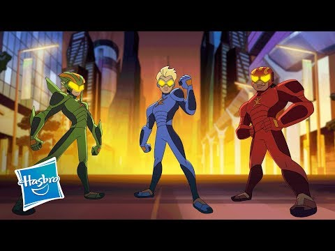Netflix & Hasbro Studios Present 'Stretch Armstrong & the Flex Fighters' - Teaser Trailer
