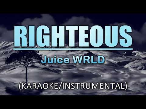 Righteous (Acoustic Version) - Juice WRLD (Karaoke/Instrumental)