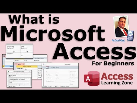 What is a Microsoft Access Database?