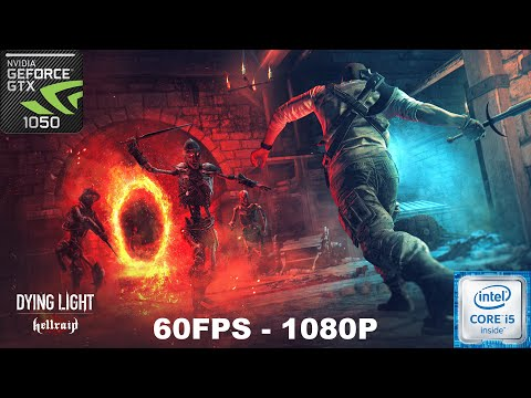 Dying Light : Hellraid Gameplay On GTX 1050 + I5 7300HQ (1080P+60FPS) |