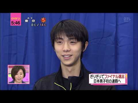 2014/12/01 Yuzuru's struggle and determination at NHK Trophy