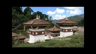 Monasteries around Thimphu