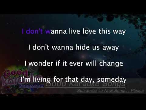 Secret Love Song -  Little Mix (Lyrics Karaoke) [ Goodkaraokesongs.com ]