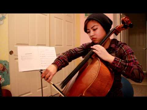 Hallelujah on cello