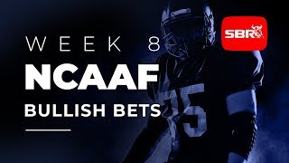 College Football Week 8: Bullish Teams To Bet With Confidence