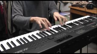 ピアノパートを演奏しました.
