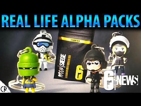 Real Life Alpha Packs - Key Chain Charms - Operation Chimera
