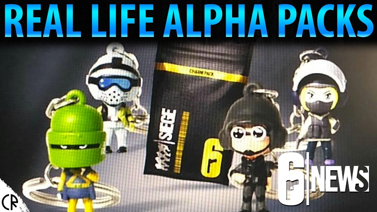 Real Life Alpha Packs - Key Chain Charms - Operation Chimera - 6News - Tom  Clancy's Rainbow Six