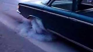 Dodge 880 Alfred State burnout