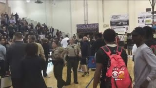 Player Arrested In Confrontation At High School Basketball Game