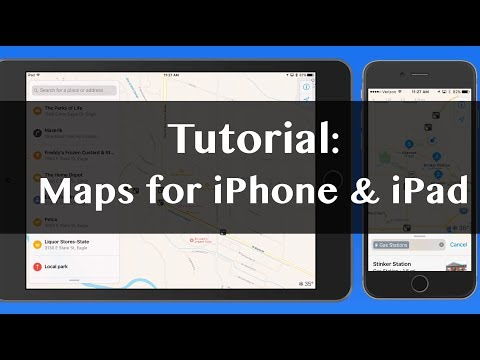 Maps For IPhone & IPad - Full IOS Tutorial