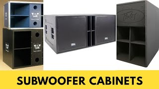 Best Subwoofer cabinet for DJ and Live Sound # in Hindi # Tech & Techniques