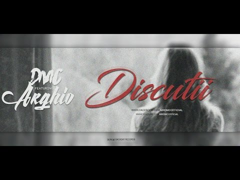 "DMC - ""d i s c u t i i"" featuring Arghio (Lyrics Video)"